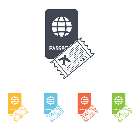 credential: Travel documents icon