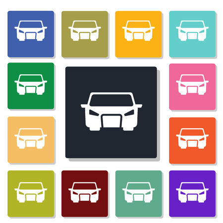 miles: Car icon