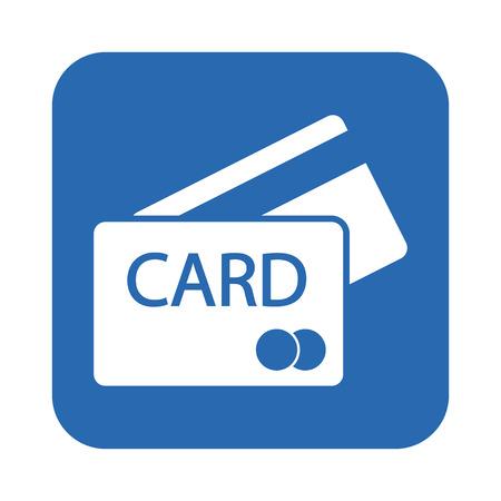 Carte de crédit icône