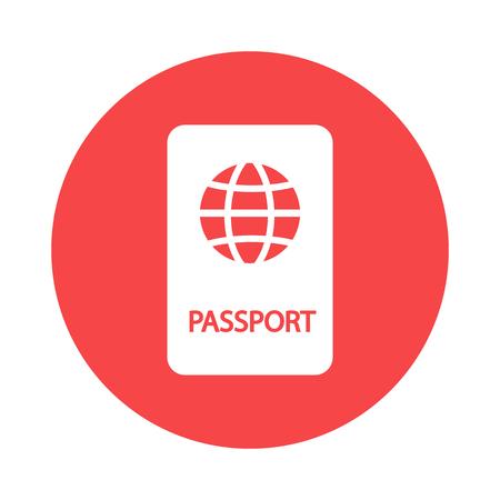 pasaporte: Icono de Passport