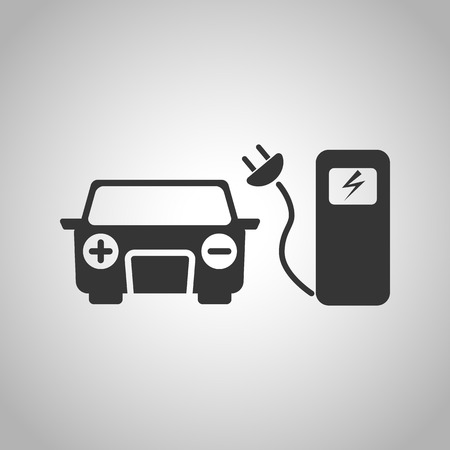 charging: Charging station icon Illustration