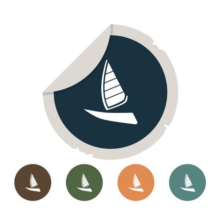 sailfish: Icono Sailfish barco