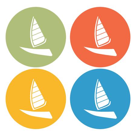 pez vela: Sailfish ship icon