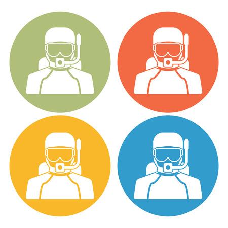 wetsuit: Diver icon