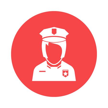 femme policier: icon Policewoman