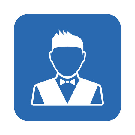 valet: Waiter icon