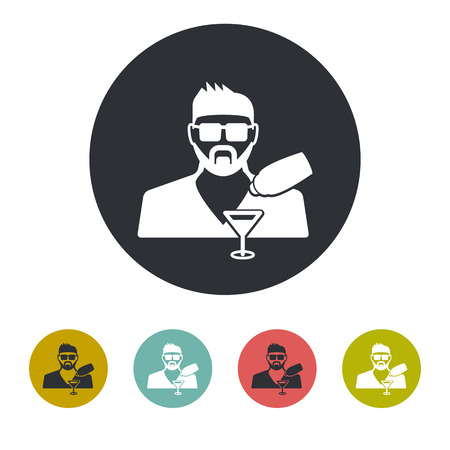 category: Bartender icon Illustration