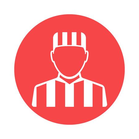prisoner: Prisoner icon Illustration