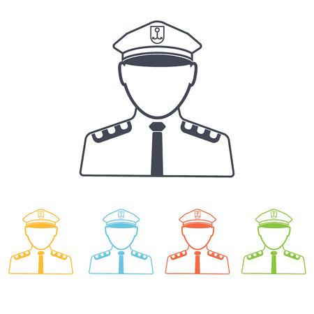 anchor man: Captain of the ship icon