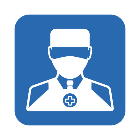 hospital gown: Doctor icon