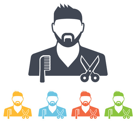 hairstylist: Hairdresser icon