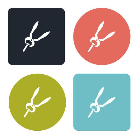 pliers: Pliers icon Illustration