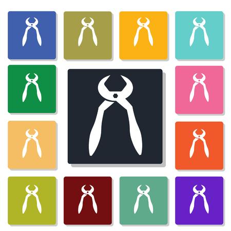 alicates: Alicates icono