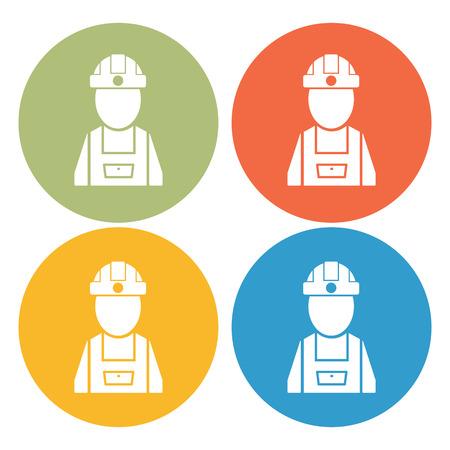 civil construction: Builder icon