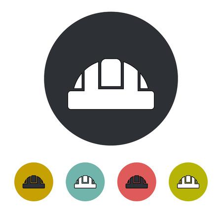 Bau-Helm-Symbol