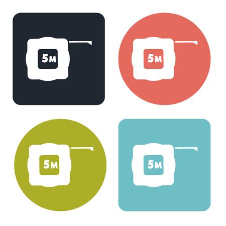 cintas metricas: Icono de cinta