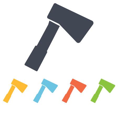 handle: Axe icon Illustration