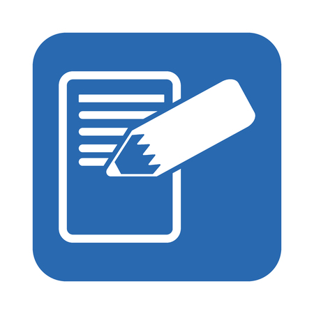 workbook: Notebook icon Illustration