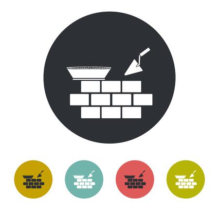 Brickwork icon Vector Illustration