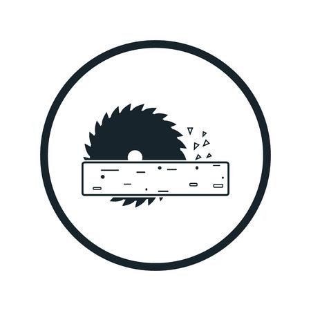 handtool: Power-saw bench icon