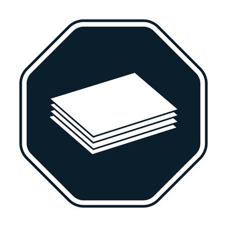 building materials: Building materials icon Illustration