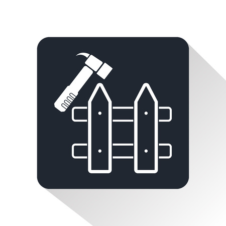 symbol fence: Repair the fence icon