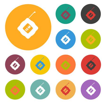 metric: Tape icon