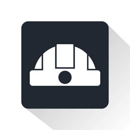 construction helmet: Construction helmet icon