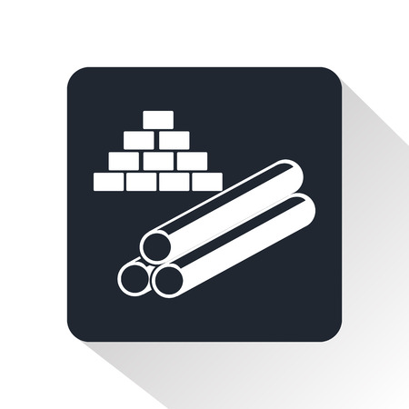 fixtures: Building materials icon Illustration