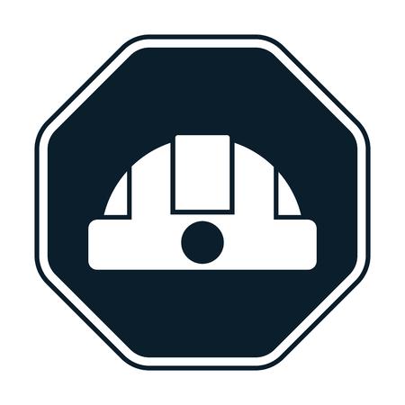 hard cap: Construction helmet icon