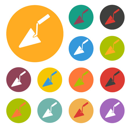 plasterer: Trowel icon