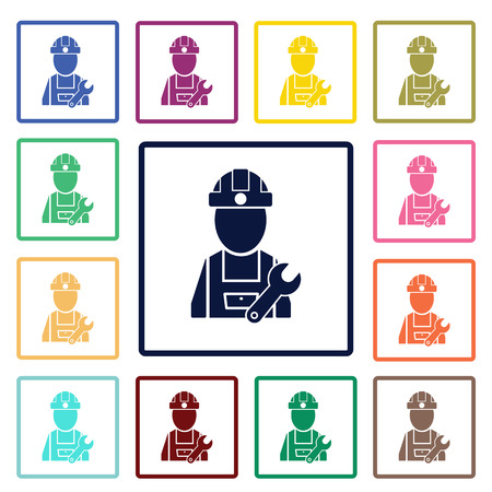 civil engineers: Builder icon