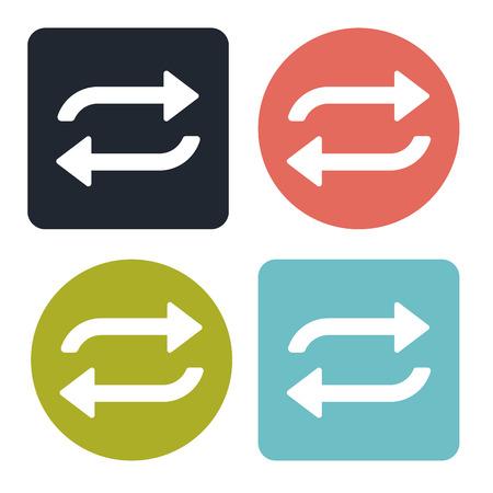Repetition icon Ilustração Vetorial
