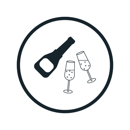 clink: Champagne icon
