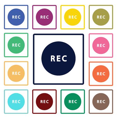 rec: Record button icon