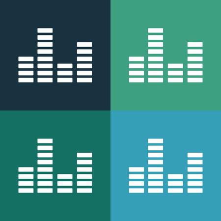 cardiogram: Music cardiogram icon