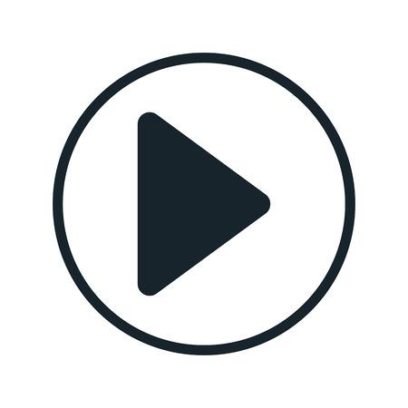 Jouer icône de bouton