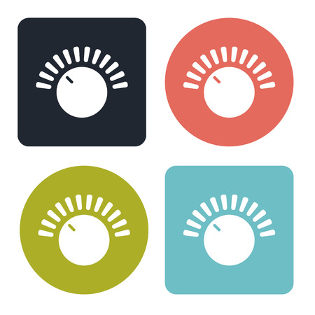 volume control: Volume control icon Illustration