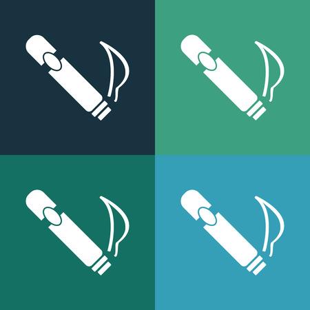 cigar: Cigar icon Illustration