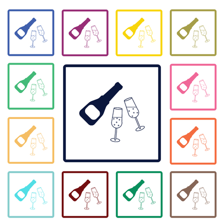 dinnerware: Champagne icon