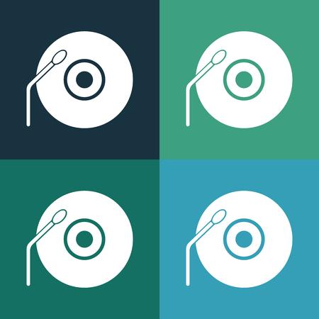vinyl record: Vinyl record icon