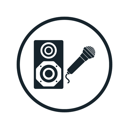 acoustic systems: Karaoke icon