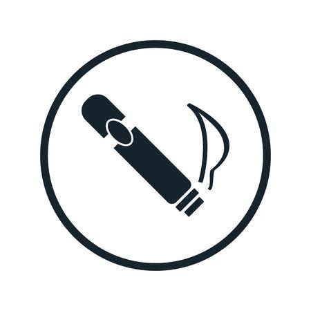 Cigar-Symbol Vektorgrafik