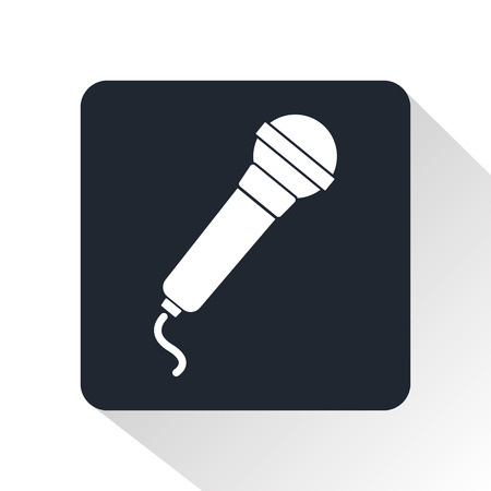 voices: Microphone icon Illustration