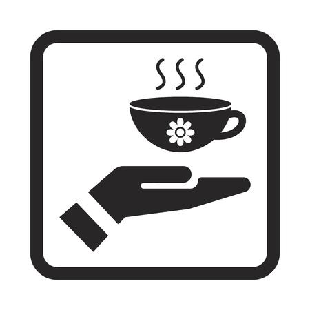 healing hands: tea icon