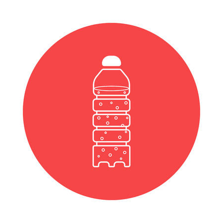bottled water icon Banco de Imagens - 52211390