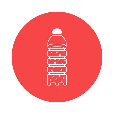 palackozott víz ikon