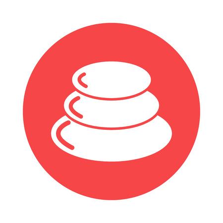 pebble: pebble icon Illustration