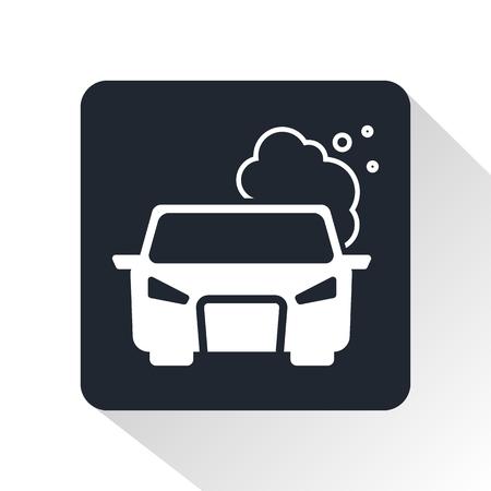 contaminacion aire: contaminar el aire icono