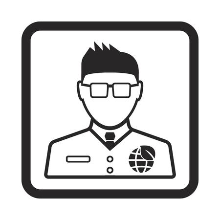 the defender: eco defender icon Illustration